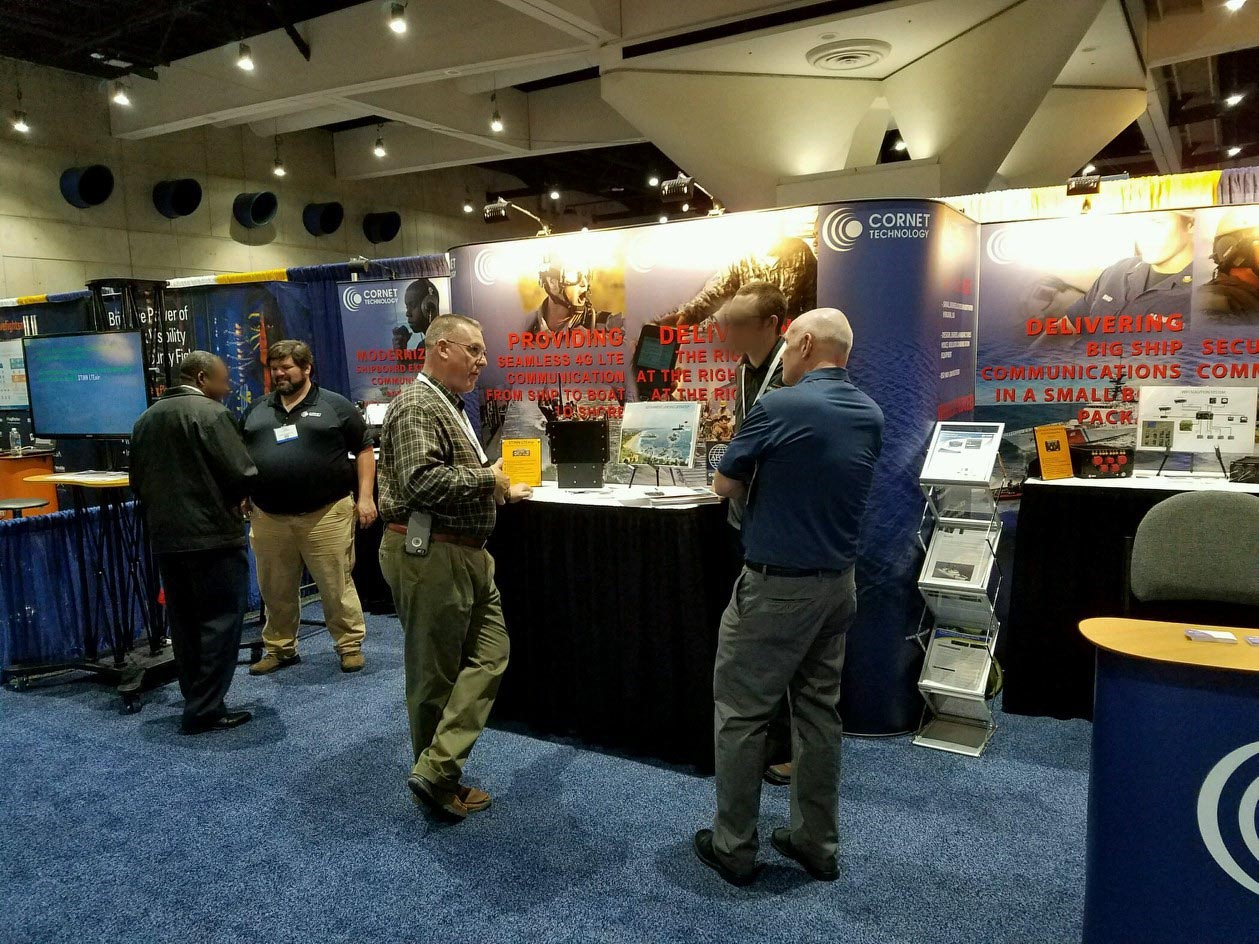 Cornet Booth at AFCEA WEST 2017