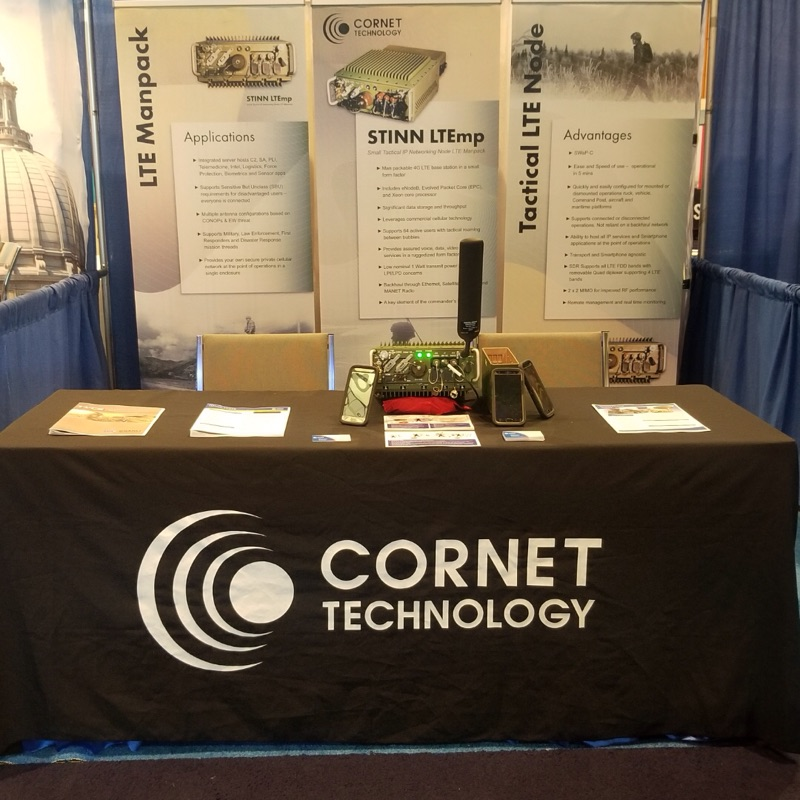 Cornet's Booth at Augusta TechNet 2019