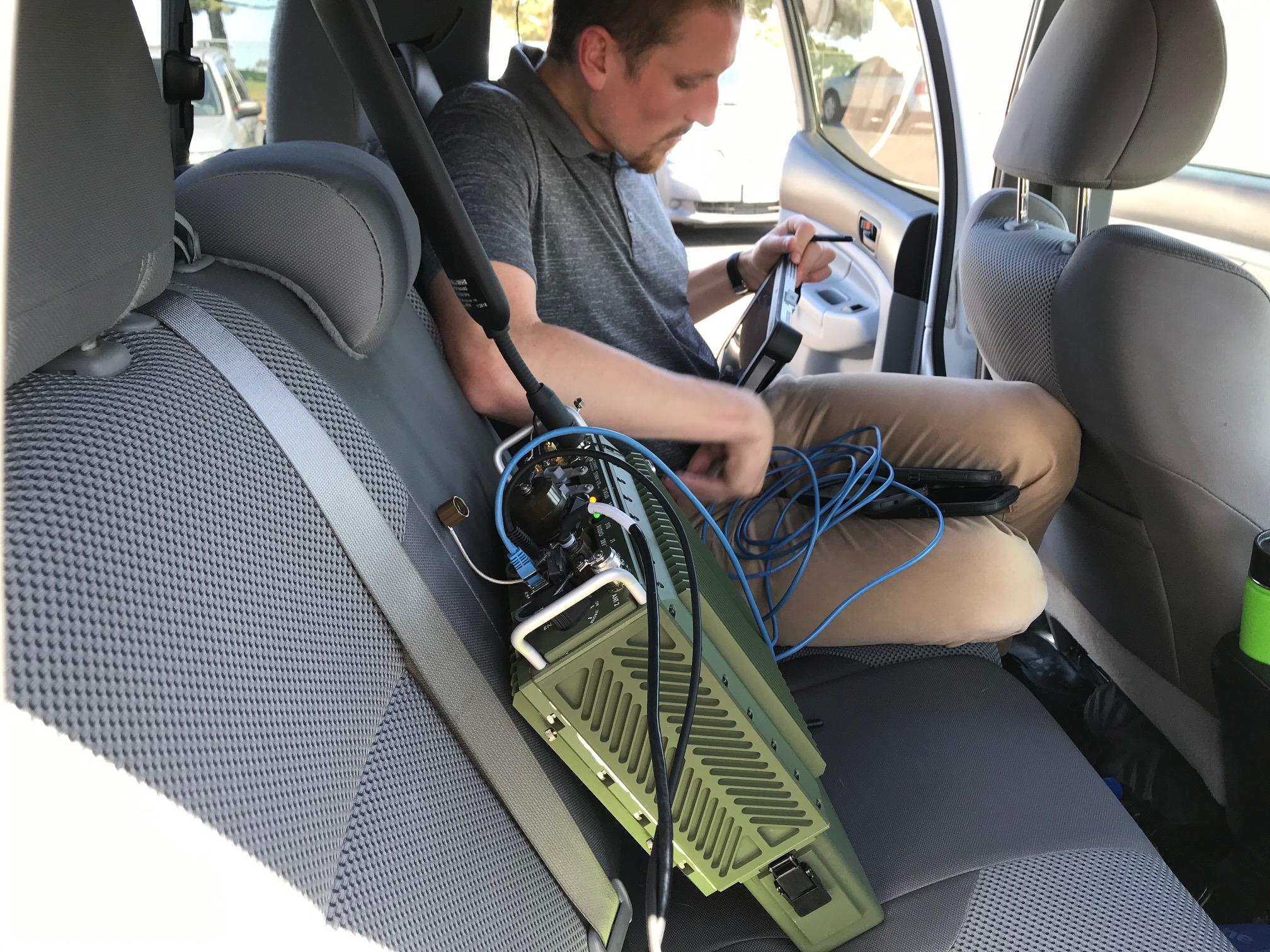 STINN LTE Manpack training in action