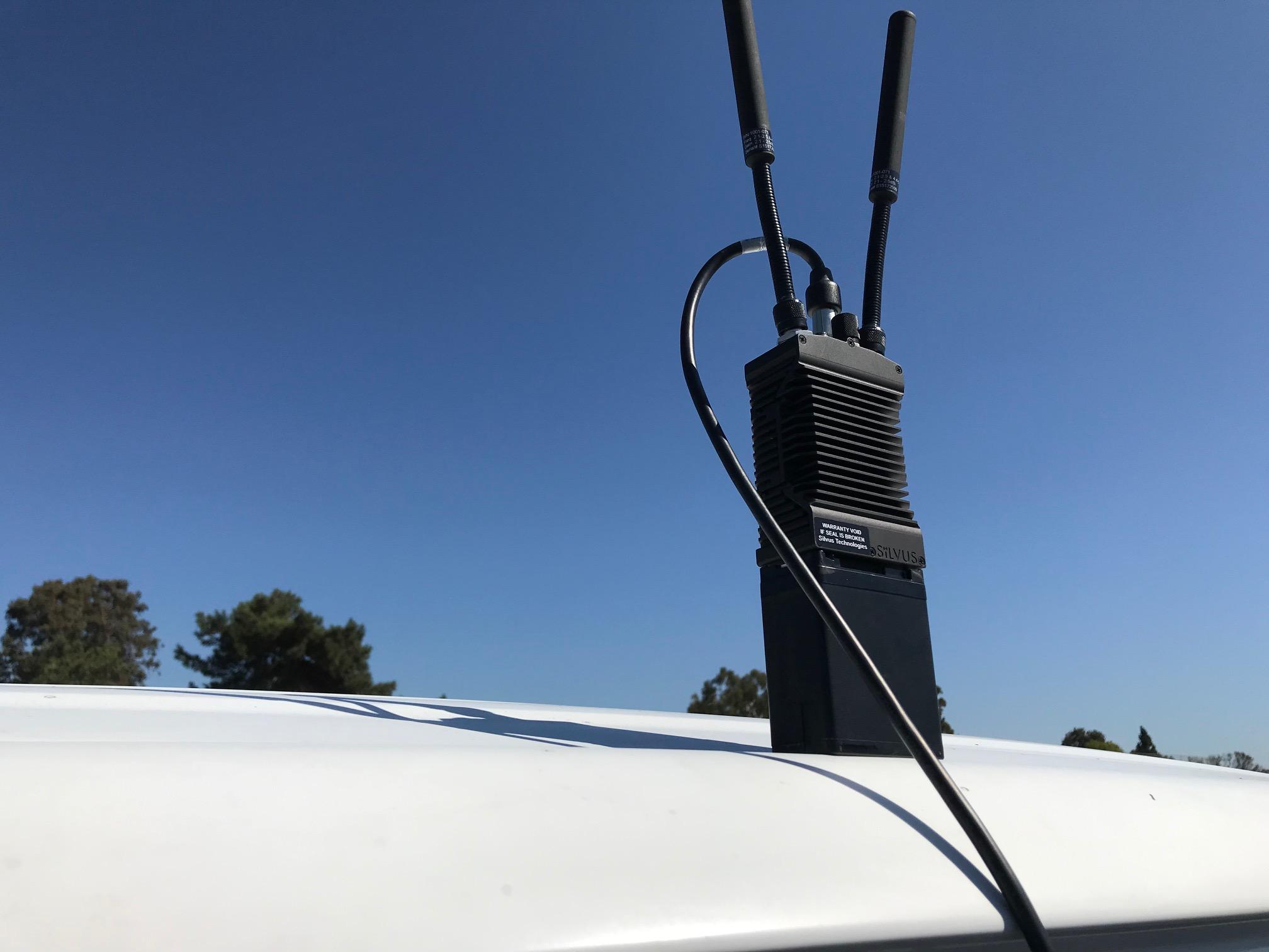 STINN LTE Manpack training in action  - MANET setup