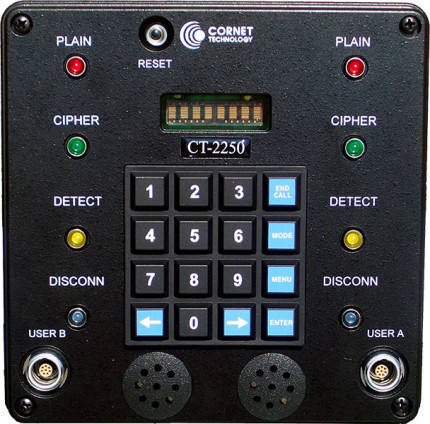 CT-2250 Naval on-ship Communications Terminal Front