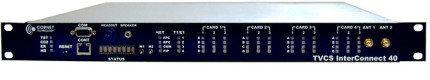 TVCS_InterConnect_40 front view- tactical networks providing radio & voice over IP communication